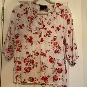 Ladies 3/4 sleeve top